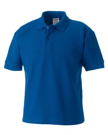 WICK THISTLE FC KIDS POLO WITH EMBROIDERED LOGO